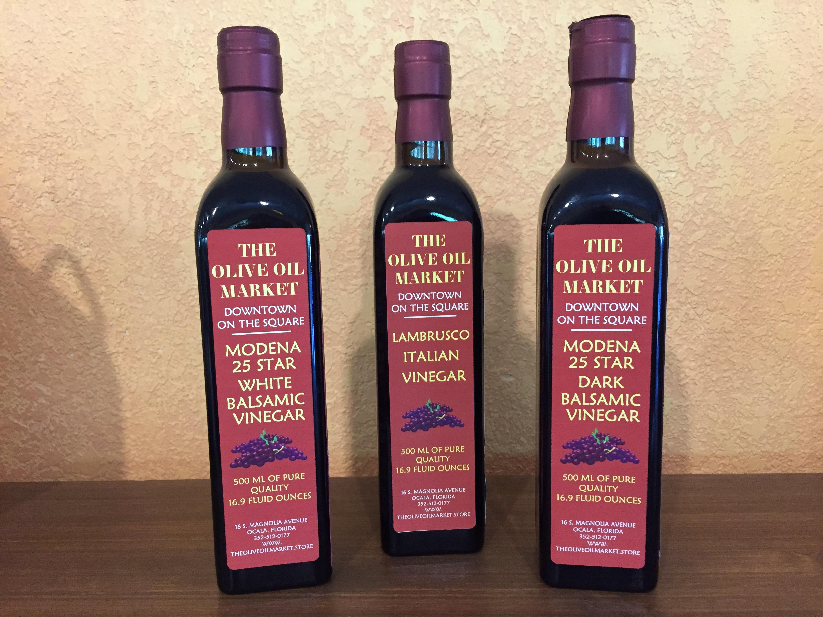 Modena Balsamic Vinegars